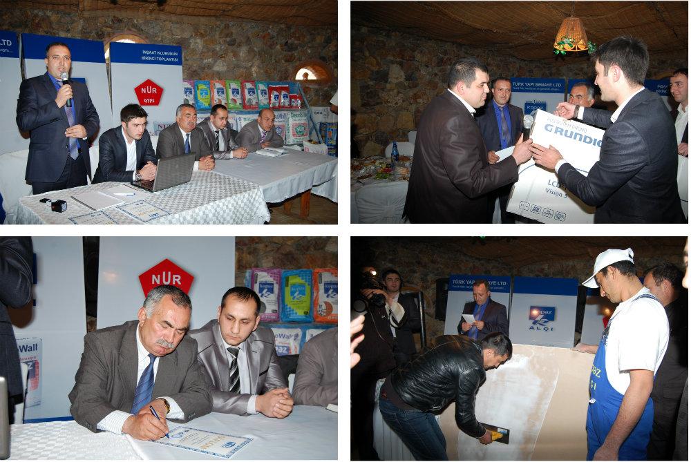 18 Mart 2013-cü Il Tarixində Gəncə şəhərində İnşaat Klubunun Birinci Toplantısı Təşkil Edildi.
